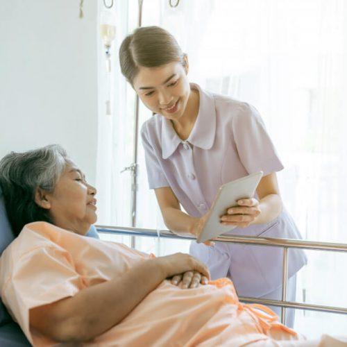 nurse-inform-health-examination-results-encourage-senior-elderly-woman-patients-hospital-medical-senior-concept